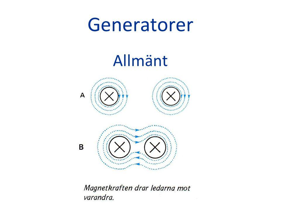 Konstruktion Virvelströmmar Virvelströmmar induceras så snart ett varierande magnetfält passerar genom ett metallstycke.