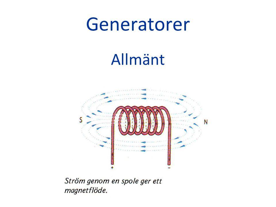 Likströmgenerator Konstruktion
