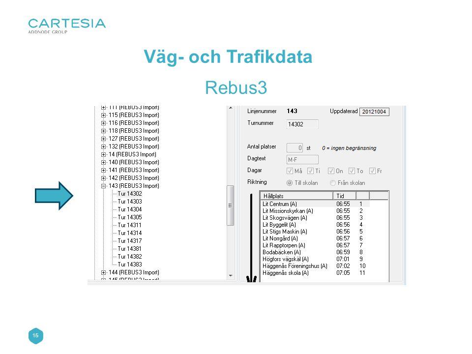 15 Väg- och Trafikdata Rebus3