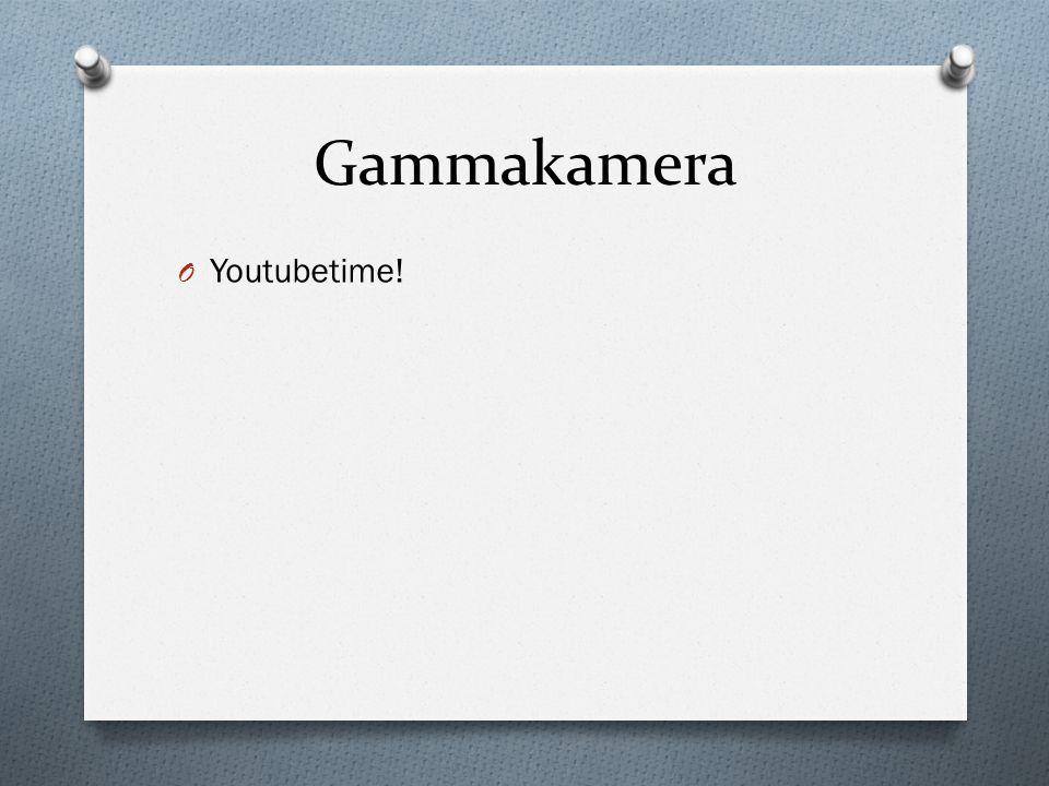 Gammakamera O Youtubetime!