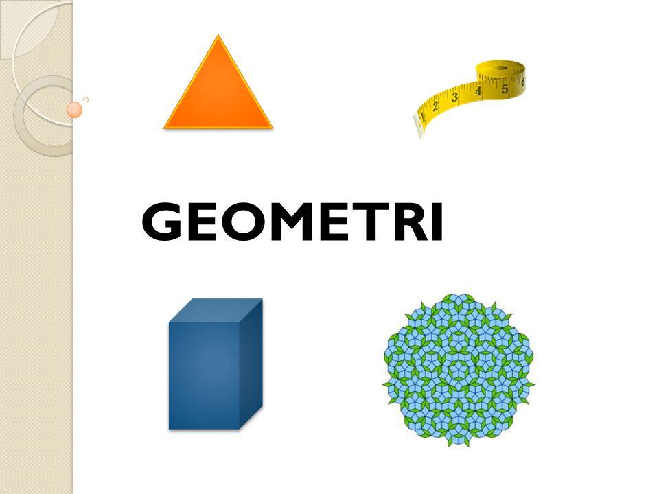 Föreläsning 6 Innehåll i del I:  Tesseleringar  Plan- och rymdgeometri  Kroppar och deras egenskaper  Några konstruktioner Litteratur:  Geometriska begrepp (Terminologibok)  Grundläggande geometri (Löwing, 2010)  Matematik – ett kommunikationsämne, s.