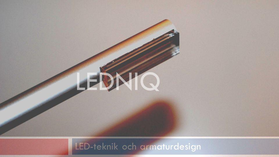 LED-teknik och armaturdesign LEDNIQ