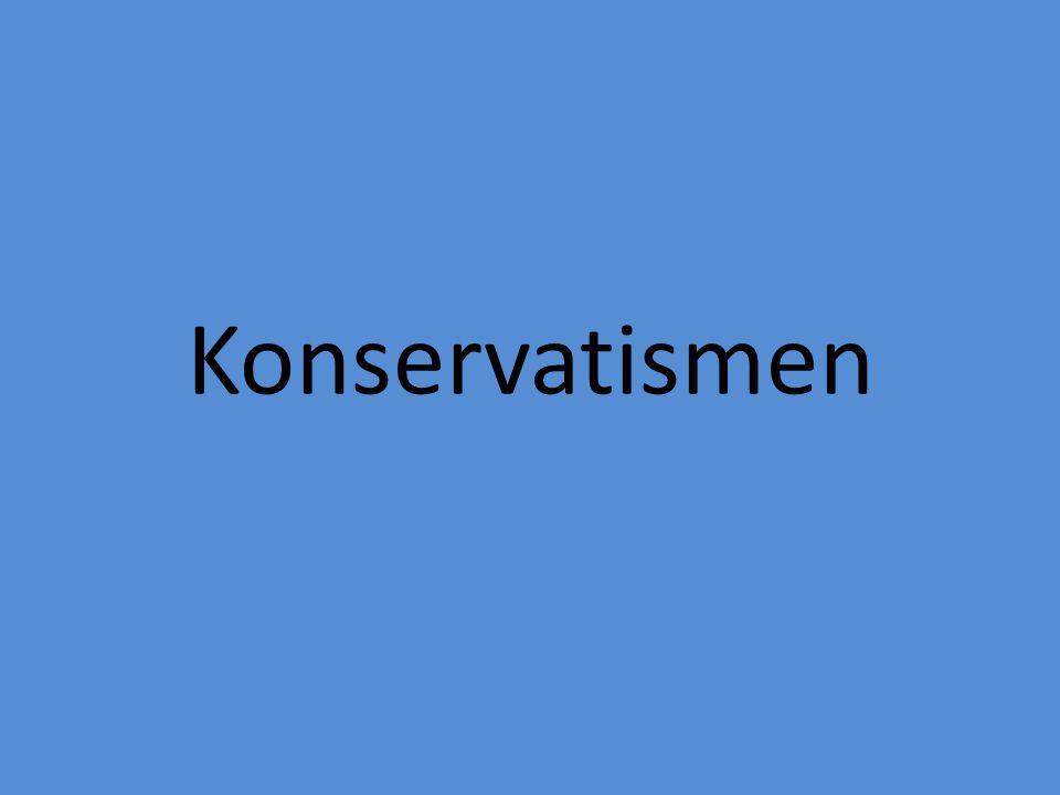 Konservatismen