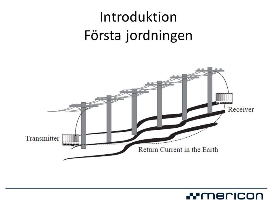 Resistivitetsmätning Prio ETT Vet man resistiviteten i jorden kan man konstruera det mest effektiva jordningssystemet