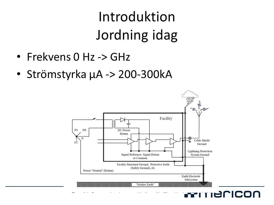 Lösningar • Varje elektrod bör max vara 100m • Dela upp i flera korta elektroder • Använd ett så symmetriskt jordtag som möjligt • Använd jordförbättringsmassa • Utnyttja byggnaden • Nyttja jordspett