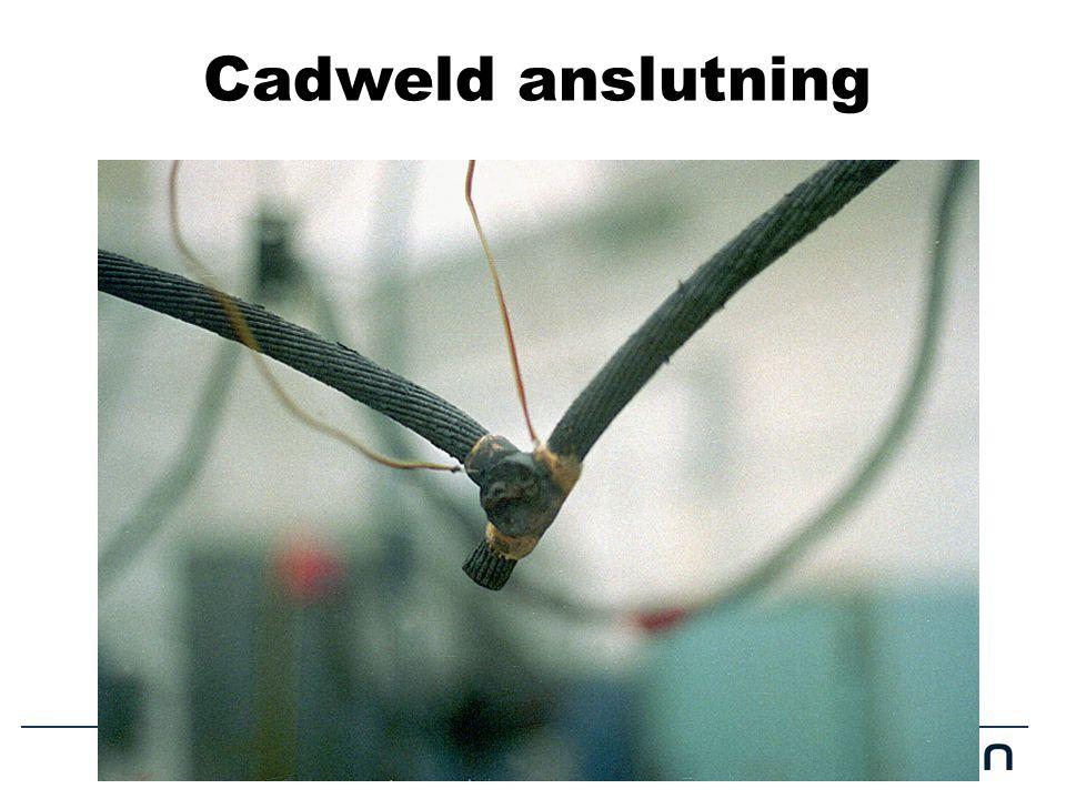 Cadweld anslutning