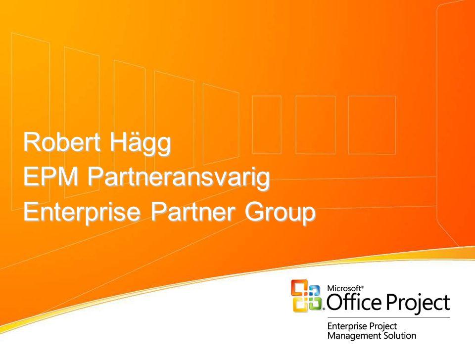 Robert Hägg EPM Partneransvarig Enterprise Partner Group