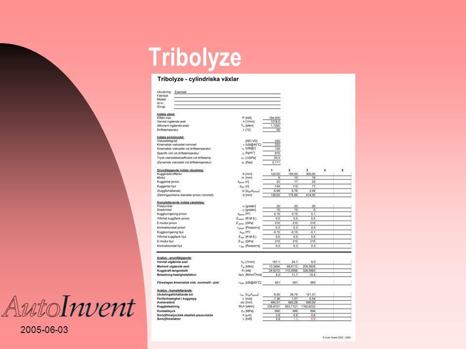 2005-06-03 Tribolyze