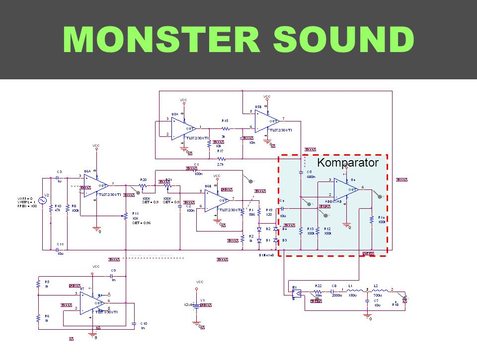 MONSTER SOUND Komparator