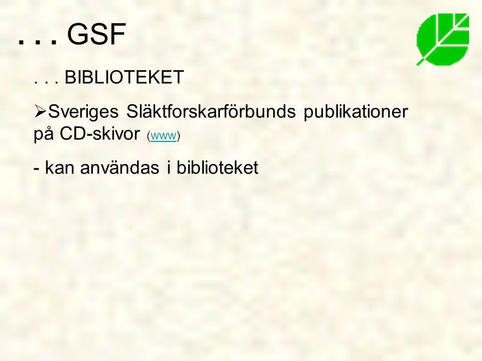 INTERESSEBEVAKNING 1) GSFs medlemmar 2) Andra släktforskare Juridisk intressebevakning fr.o.m år 1999 -att påverka lagstiftningen -uppförandekodarbete - rättshjälp (www)www...