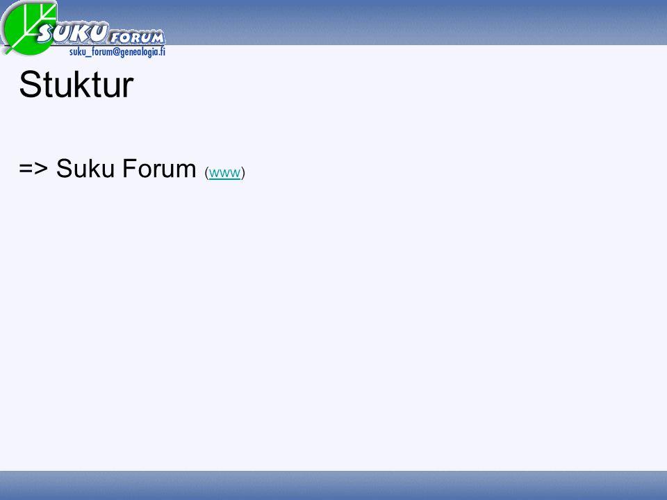 Stuktur => Suku Forum (www) www
