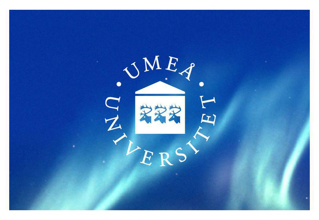 Budget Umeå universitet 2014 inkl.
