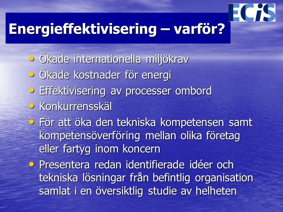 Energieffektivisering – varför.