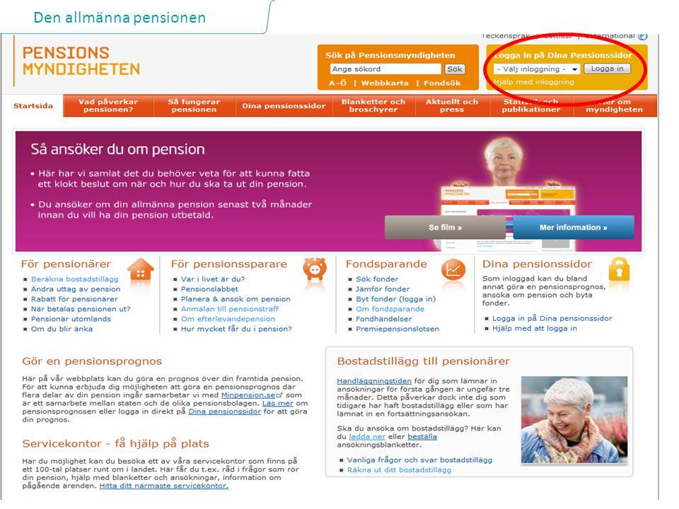 Den allmänna pensionen 26 2014-06-28
