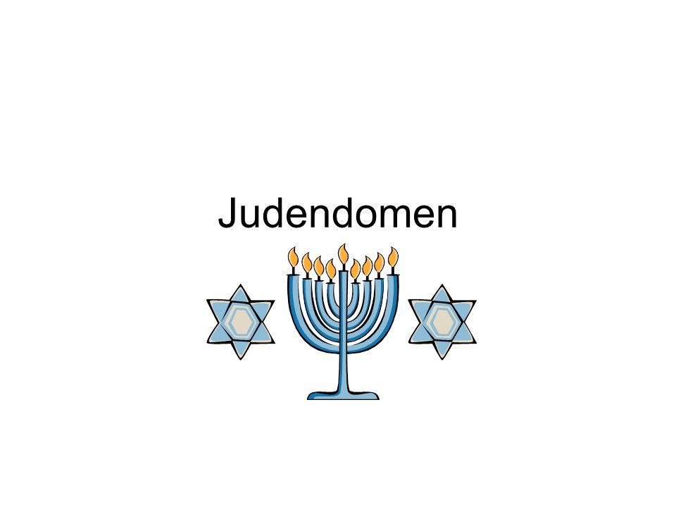 Judiska högtider •Pesach (den judiska påsken) Firas till minne av befrielsen från slaveriet i Egypten och uttåget ur Egypten med Mose som ledare 1200 f.