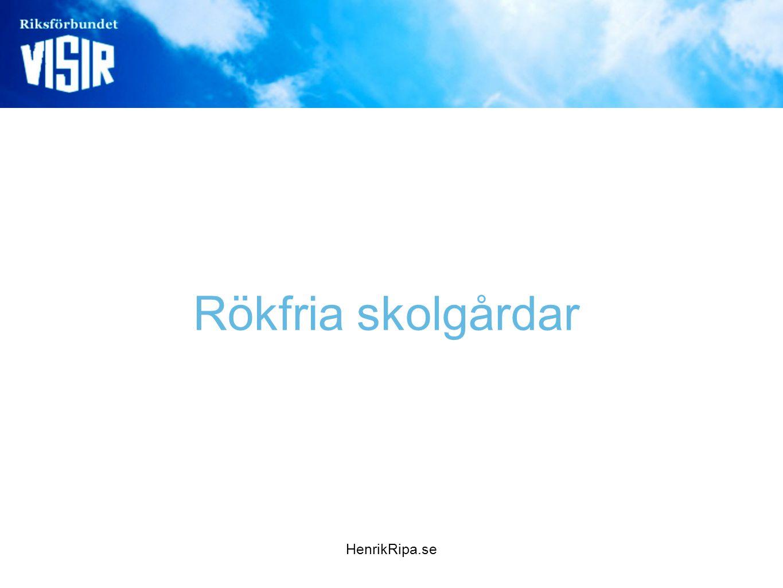 HenrikRipa.se Rökfria skolgårdar