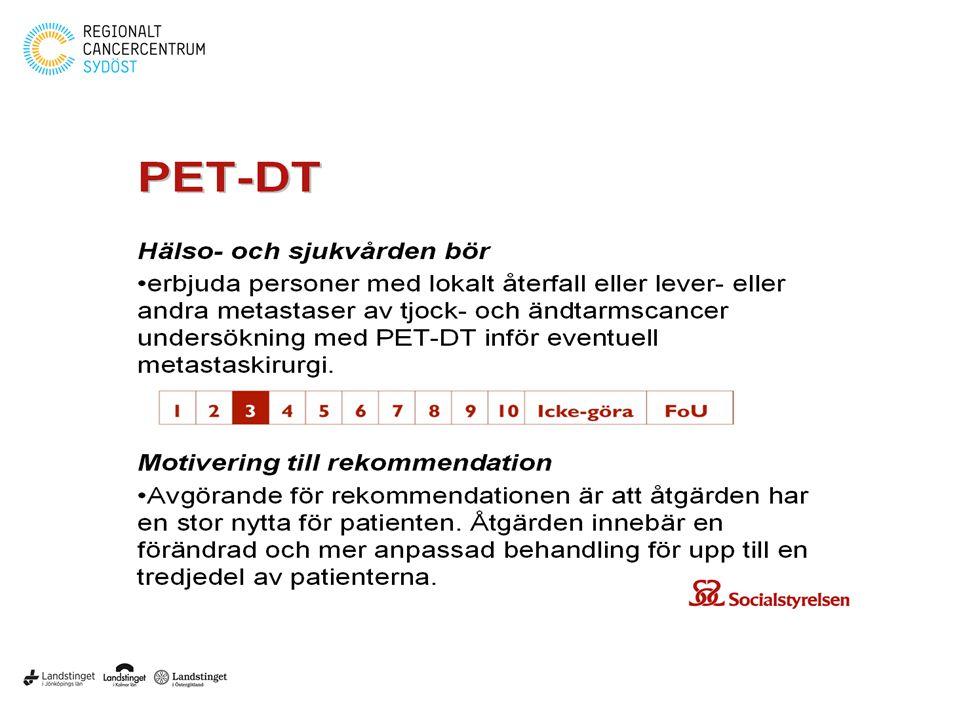PET/ CT – verksamheten vid US