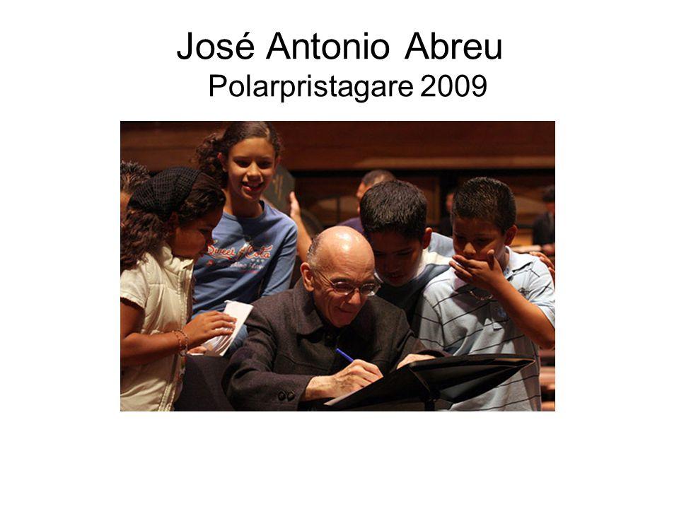 José Antonio Abreu Polarpristagare 2009