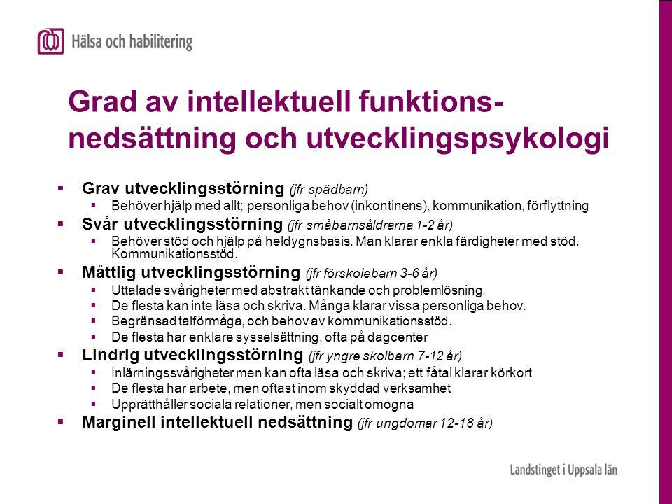 Utredning – tre krav  Evidensbaserat Test och frågeformulär ska vara validerade för svenska förhållanden  Replikerbarhet Observationerna ska kunna göras om i intervall  Oberoende Observationerna ska vara oberoende av administratör, dvs en ersättare ska kunna genomföra retest