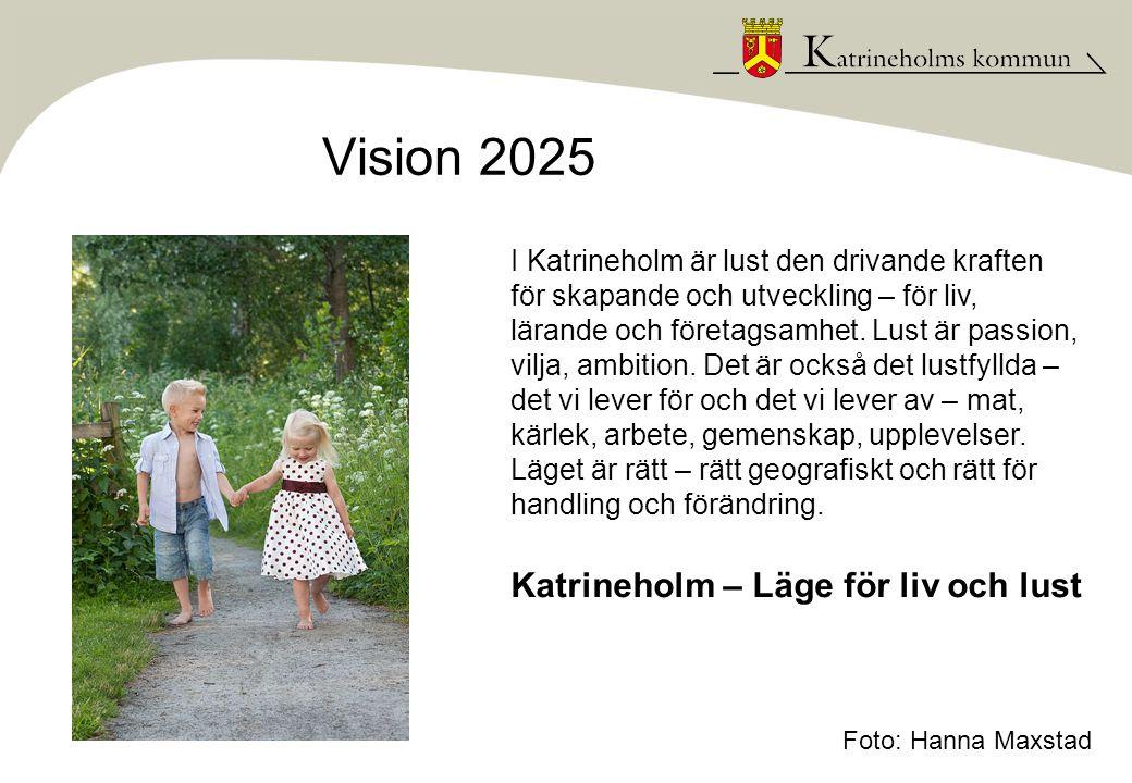 År 2025 är Katrineholm en plats präglad av lust: Lust är ett uttryck för en vilja och handlingskraft, en inställning och ett förhållningssätt.