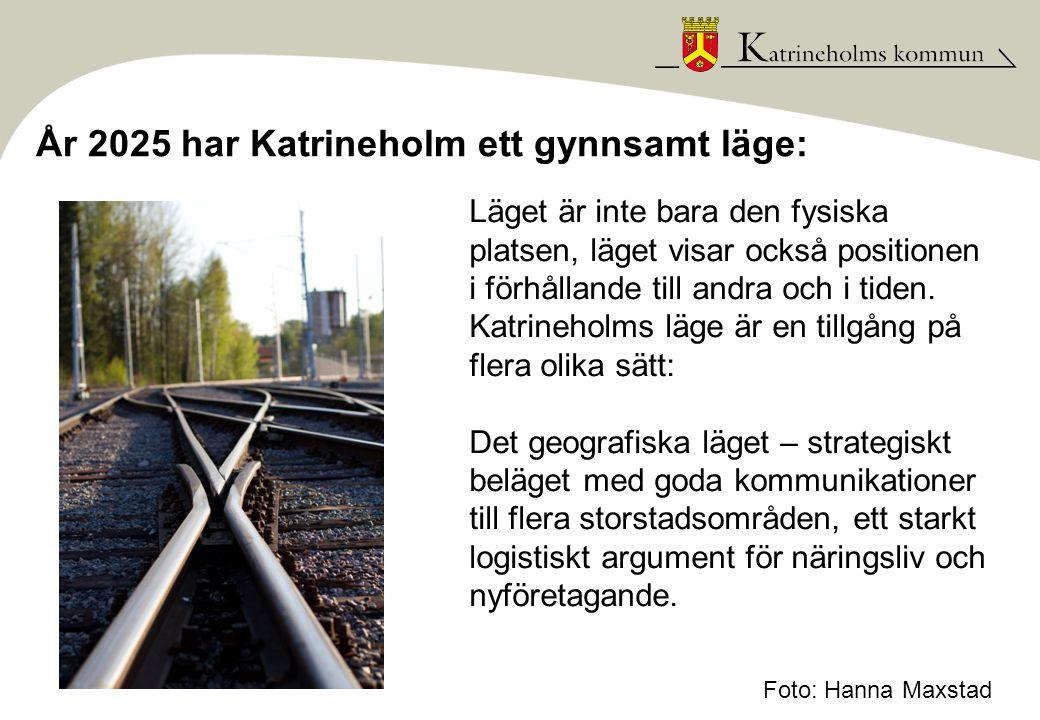 År 2025 är Katrineholm en plats präglad av lust: Lärande – Förändring börjar med en vilja att förändras.