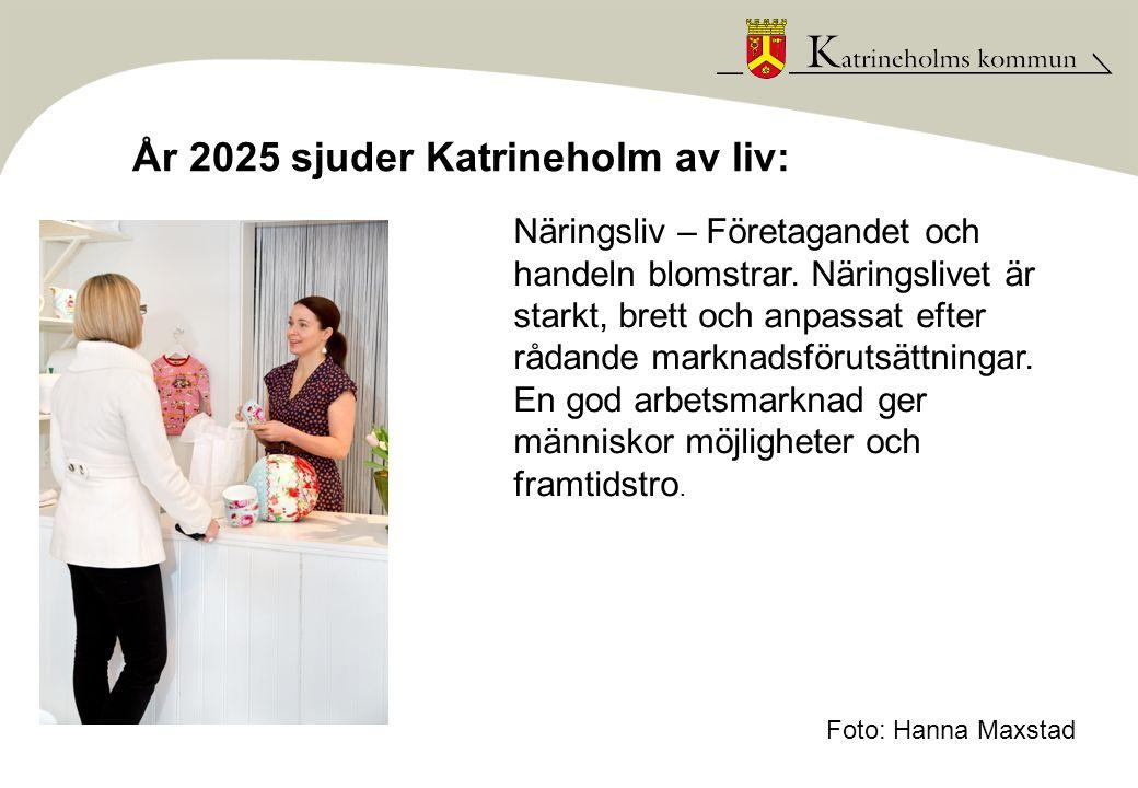 År 2025 sjuder Katrineholm av liv: Kulturliv – Här finns utrymme för kreativitet, kulturlivet är brokigt och skapar upplevelser och inspiration.