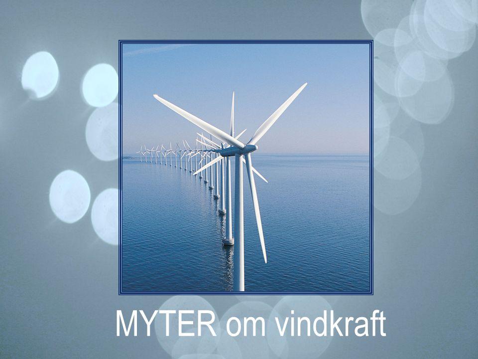 MYTER om vindkraft