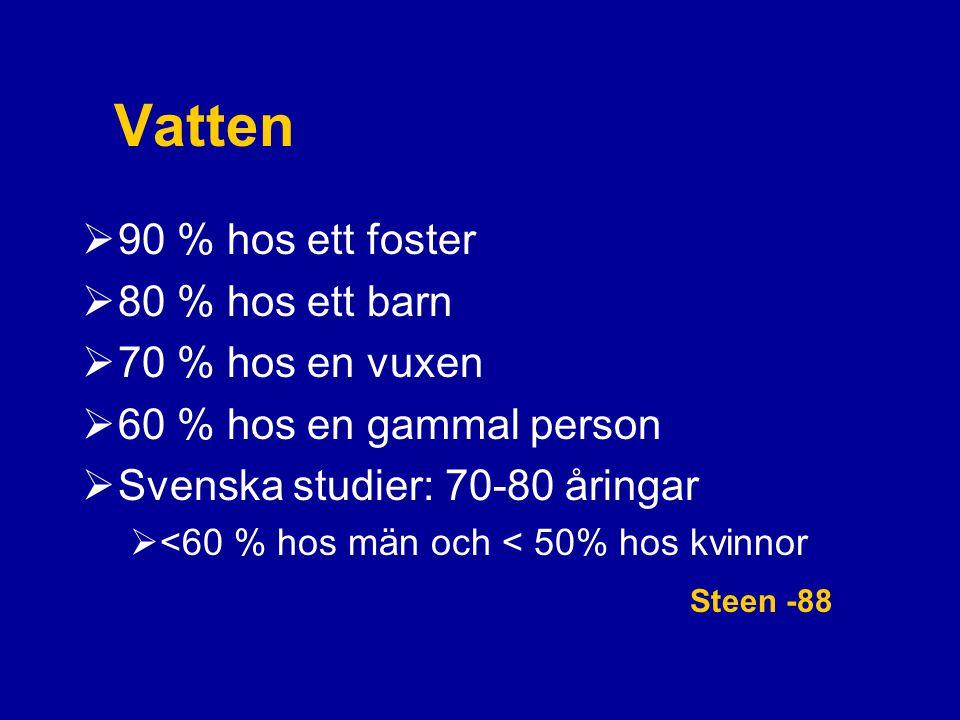 Enteral nutrition - När PEG när sond.