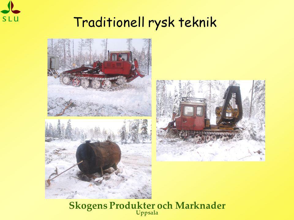 Skogens Produkter och Marknader Uppsala Traditionell rysk teknik