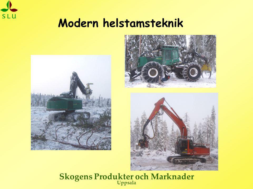 Skogens Produkter och Marknader Uppsala Modern helstamsteknik