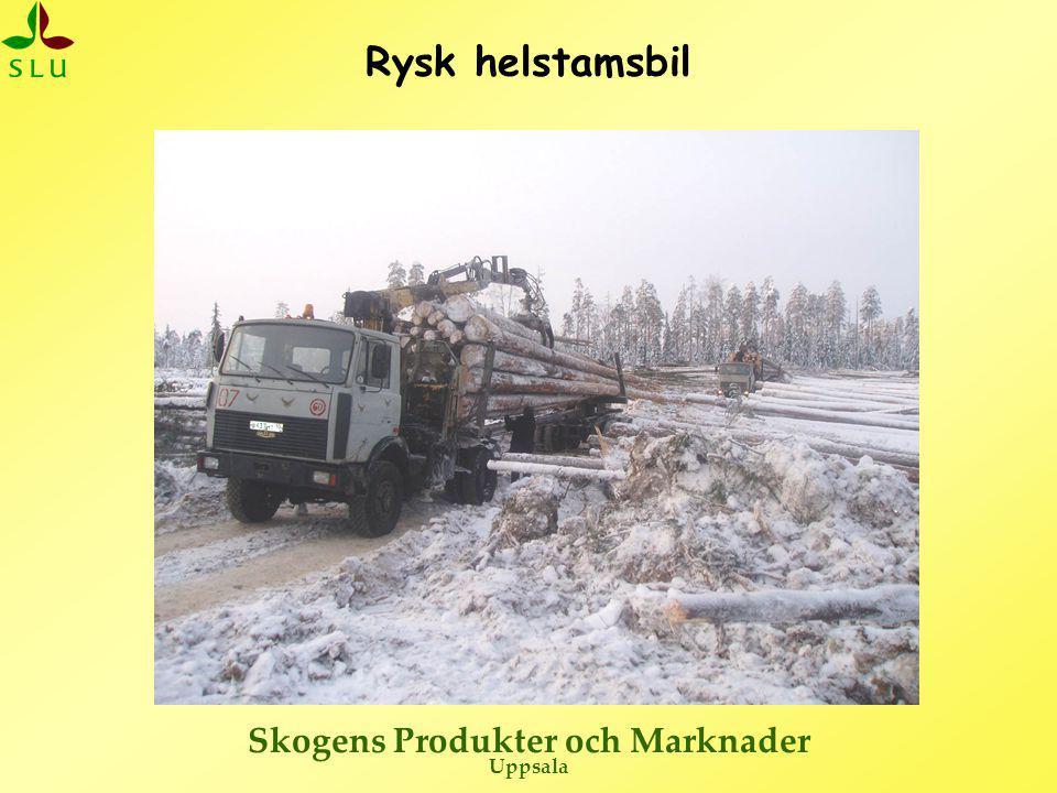Skogens Produkter och Marknader Uppsala Rysk helstamsbil