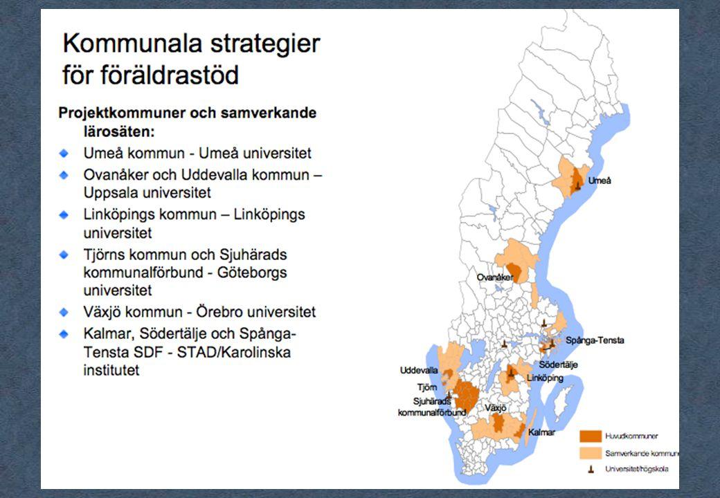 57 70 mn Föräldrakraft i Spånga-TenstaFöräldrakraft i Spånga-Tenst Föräldrastöd i samverkan Södertälje (FiSS) Samverkan kring föräldrastöd Sjuhärad/Södra ÄlvsborgSamverkan kring föräldrastöd Sjuhärad/Södra Älvsborg Föräldrastöds samverkan A (Ale) till Ö (Öckerö) – lokala strategier för utvecklat föräldrastödFöräldrastöds samverkan A (Ale) till Ö (Öckerö) – lokala strategier för utvecklat föräldrastöd Värme och ramar - föräldrastöd i södra Kalmar länVärme och ramar - föräldrastöd i södra Kalmar län Föräldrastöd i samverkan inom UmeåRegionen Föräldrastöd i samverkan Uddevalla - Fyrbodal 2009-2011Föräldrastöd i samverkan Uddevalla - Fyrbodal 2009-2011 Det goda föräldraskapet - Växjö kommun Samverkande föräldrastöd - nätverk för forskning och utveckling - LinköpingSamverkande föräldrastöd - nätverk för forskning och utveckling - Linköping Med förenade krafter utvecklas föräldrastöd - De tre F:en.