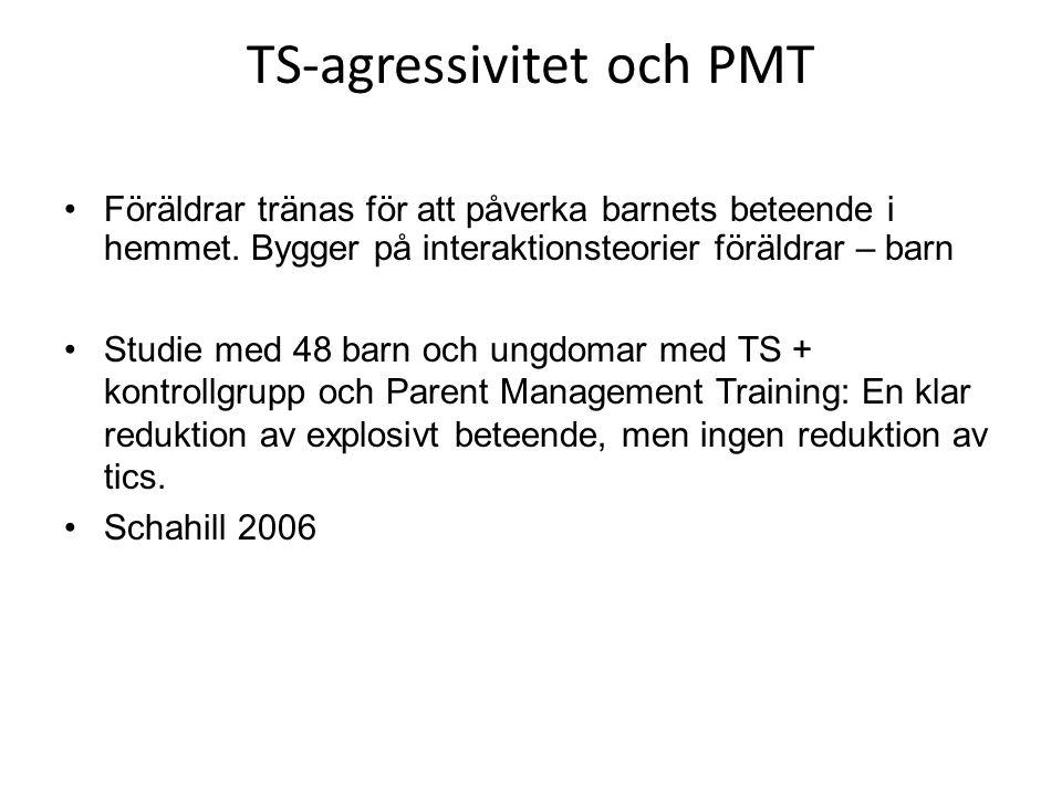 Uppsala modellen NPBE- Tourette team •Föräldrautbildning 1- Grundkurs vid 3 tillfällen 2- Fortsättningskurs vid 5 tillfällen
