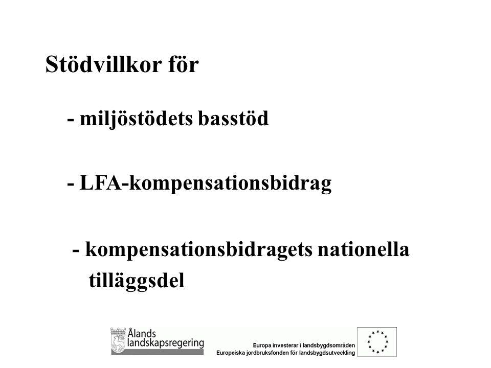 OBLIGATORISKA ÅTGÄRDER 1.