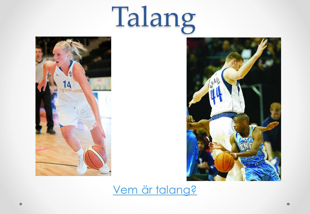 Viktigaste fysiska förmågorna i basketboll •Koordination •Snabbhet •Snabbhetsuthållighet •Styrkeuthållighet •Explosiv styrka •Balans •Flexibilitet •Agility •Anaerob uthållighet •Aerob kapacitet