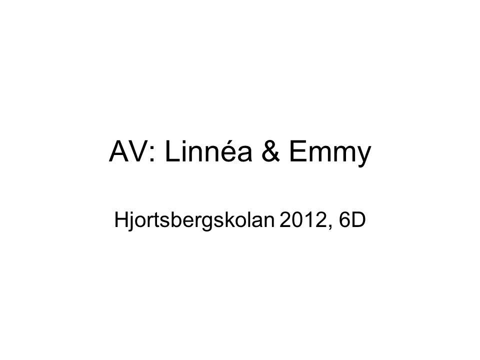 AV: Linnéa & Emmy Hjortsbergskolan 2012, 6D