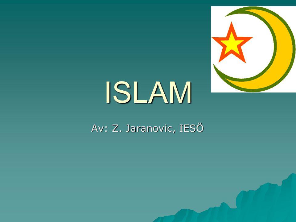 ISLAM Av: Z. Jaranovic, IESÖ