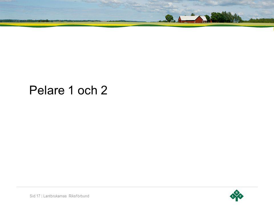 Sid 17 | Lantbrukarnas Riksförbund Pelare 1 och 2