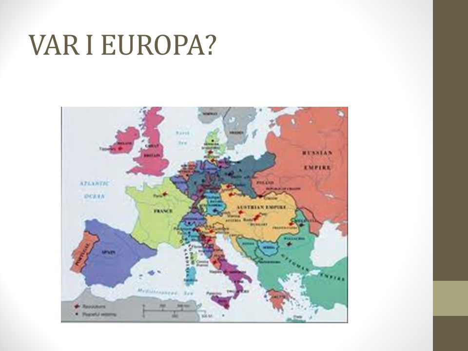 VAR I EUROPA?