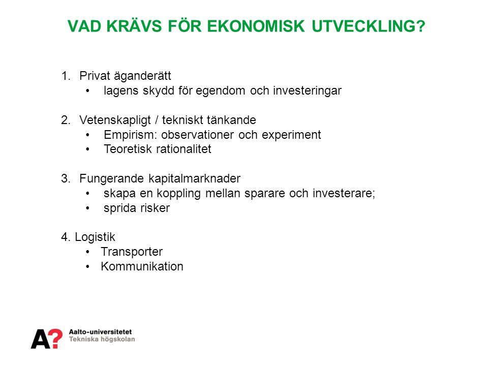 Department of Industrial Engineering & Management VÄRDEKEDJAN Michael Porter: Competitive Strategy.