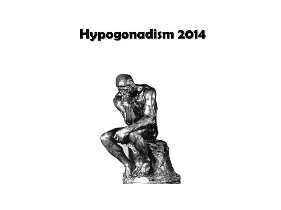 Hypogonadism 2014