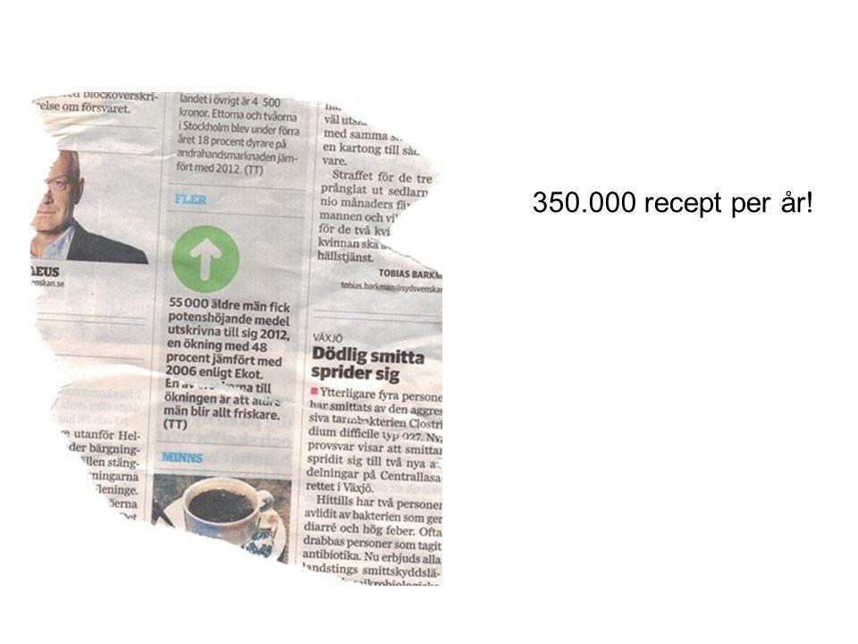 350.000 recept per år!