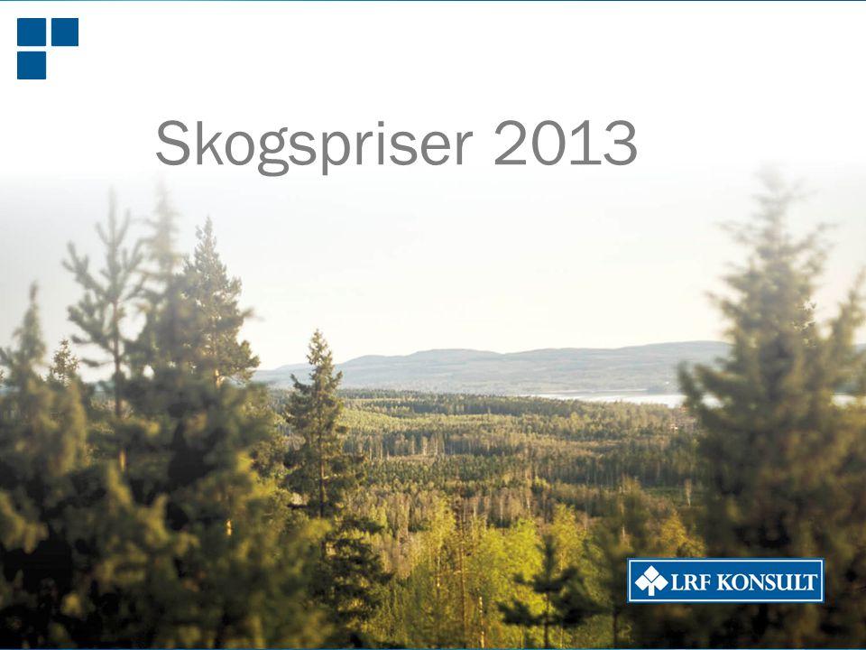 Ekonomi Juridik Affärsrådgivning Fastighetsförmedling lrfkonsult.se Skogspriser 2013