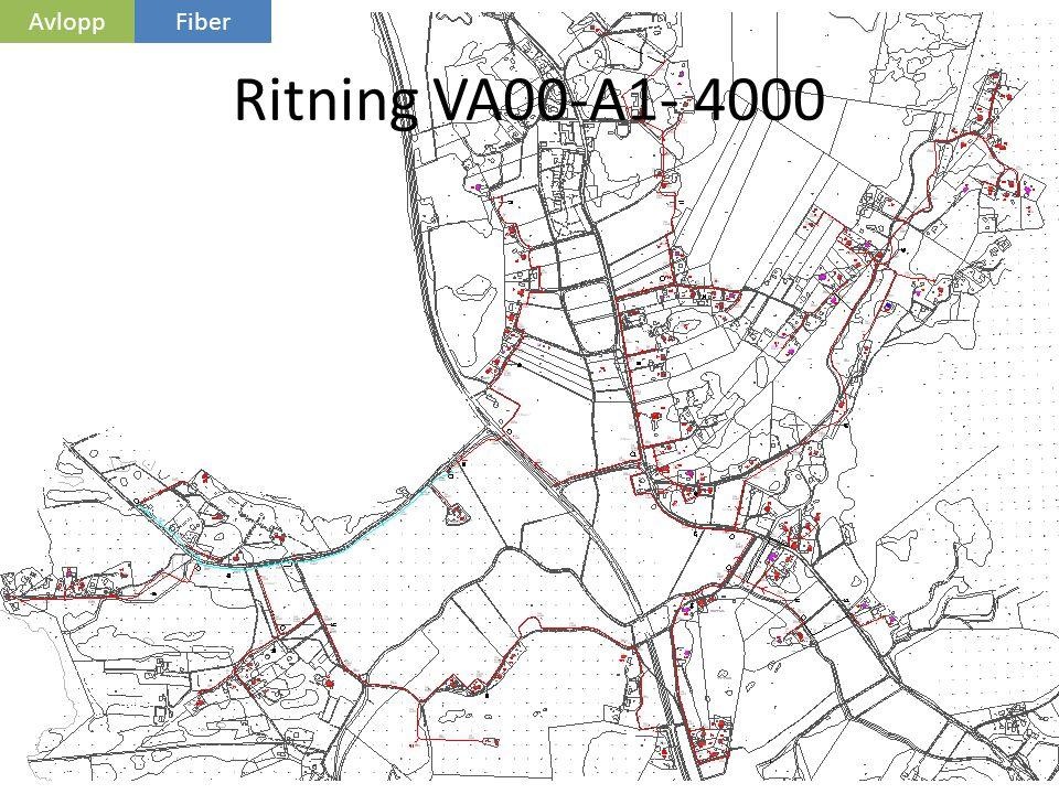 Ritning VA00-A1- 4000 AvloppFiber