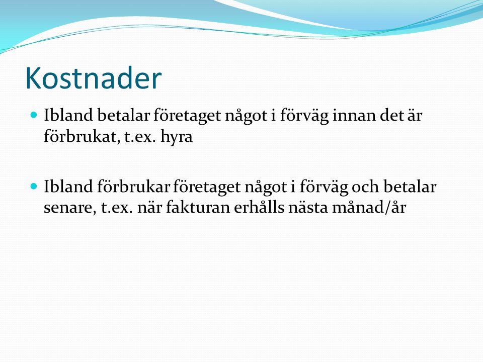 Bokföring av avskrivn anl.tillg.