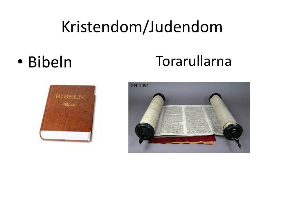 Kristendom/Judendom • Bibeln Torarullarna