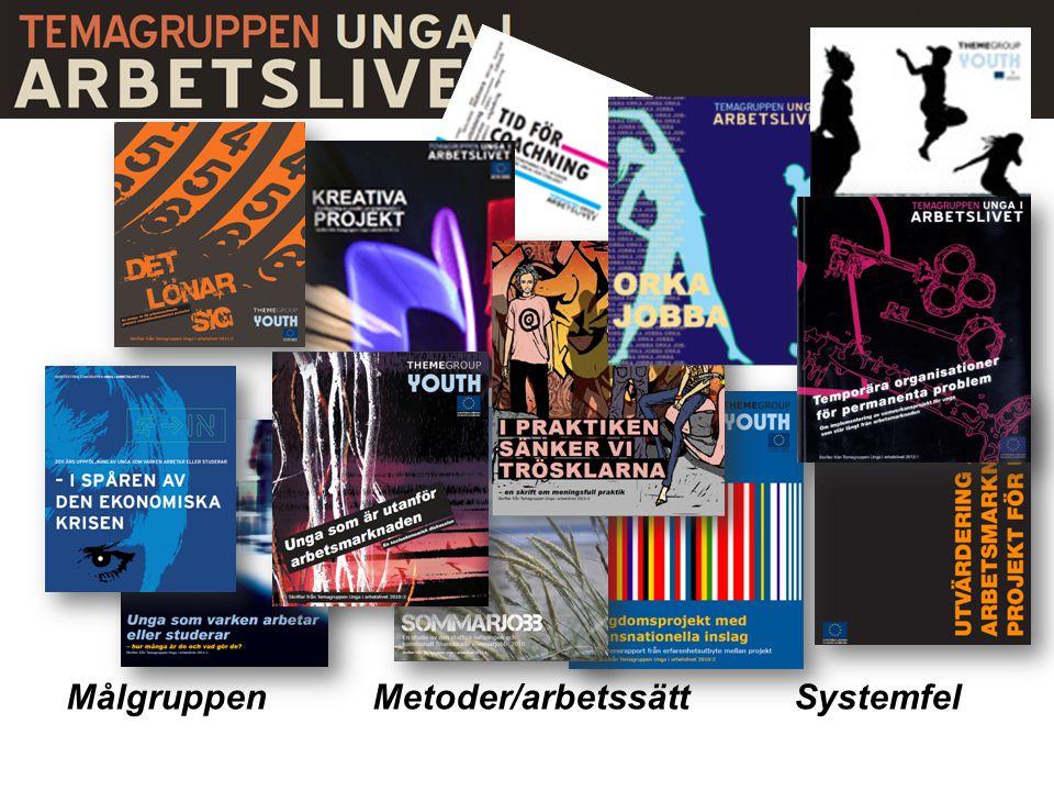 Målgruppen Metoder/arbetssättSystemfel