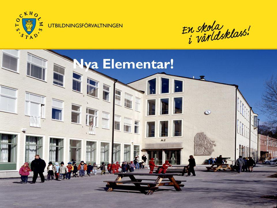 Skolans verksamheter ca 780 elever och 110 personal • F – år 5 • År 6 - 9 • Träningssärskola och grundsärskola • Bromma Resursskola • Fritidsklubb • Inspirations- och utbildningscenter