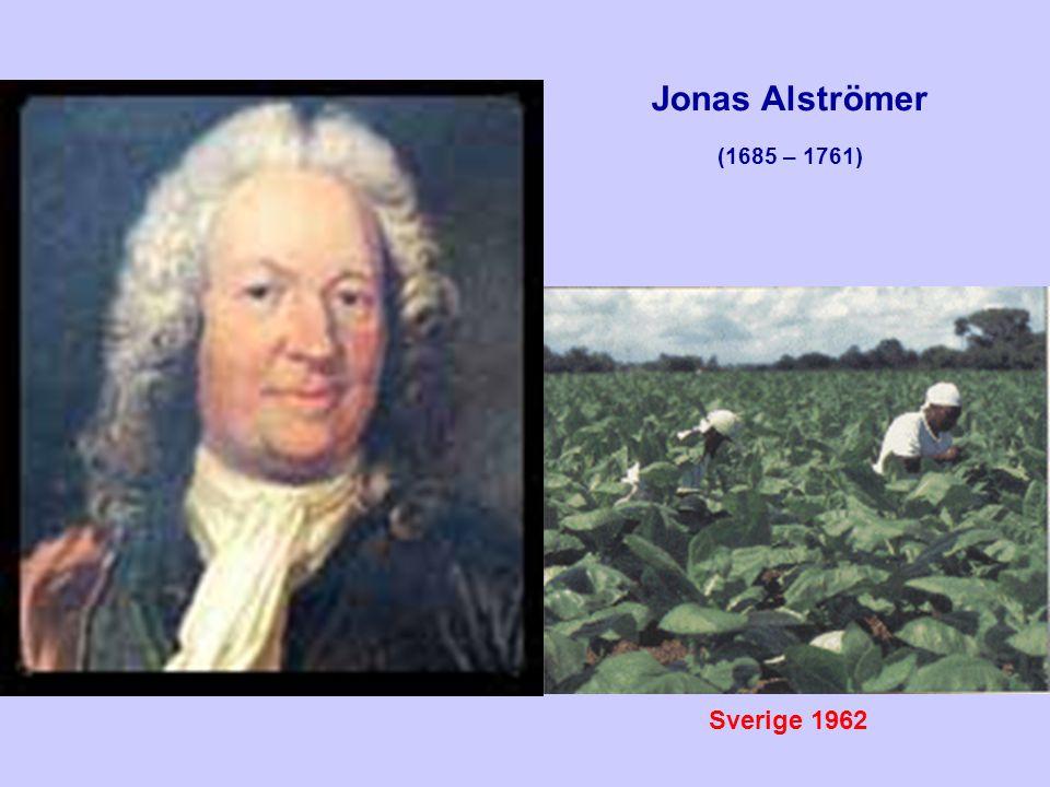 Jonas Alströmer (1685 – 1761) Sverige 1962