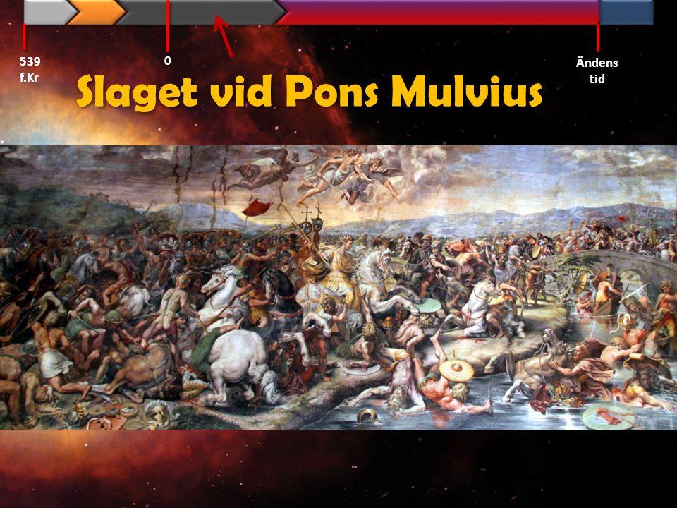 Slaget vid Pons Mulvius 539 f.Kr Ändens tid 0